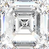 3D例证宏观白色宝石昂贵的首饰金刚石 免版税库存照片