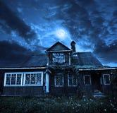 3 d例证月亮晚上 免版税库存照片