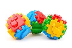 3d儿童例证玩具 库存照片