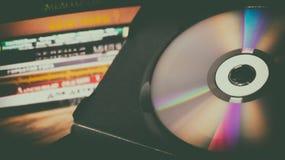 3d光盘dvd高质量回报 免版税库存图片
