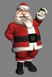3d克劳斯・圣诞老人 免版税库存照片
