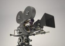 3d减速火箭的戏院照相机 免版税库存照片