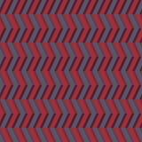 3D几何无缝的样式 库存例证
