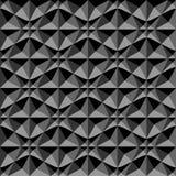 3d几何模式 黑暗的背景和纹理 图库摄影