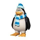3d动画片企鹅 库存照片
