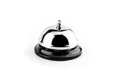3d响铃被生成的图象服务白色 库存照片