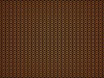 3d回报了与橙色样式的背景 图库摄影