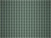 3d回报了与绿色网眼图案样式的抽象背景 免版税库存照片