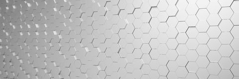 3d回报-抽象背景-多角形-银 图库摄影