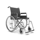3d回报-轮椅 免版税库存图片