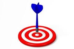 3D图表,箭,隐喻-目标… 库存照片