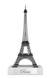 3d埃佛尔铁塔雕象 库存照片