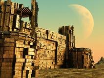 3D堡垒 库存照片