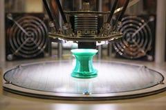 3D塑料的打印机 免版税库存照片