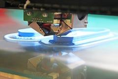 3D塑料的打印机 免版税库存图片