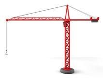 3d塔吊 库存例证