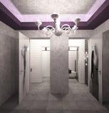 3D夜总会室内设计的形象化 库存照片