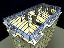 3d大厦 图库摄影