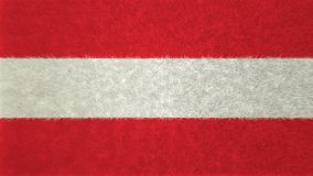 3D奥地利的旗子的图象 皇族释放例证