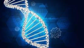 3d应用脱氧核糖核酸生成了高图象设计解决方法 库存例证
