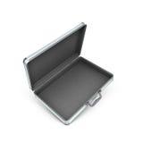 3d开放金属盒的例证 库存照片