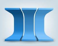 3d形状 免版税库存图片