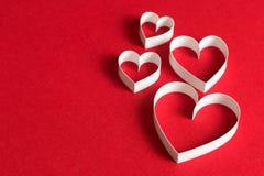 3D心脏形状标志 免版税库存图片
