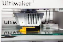 3d打印机打印技术 免版税库存照片
