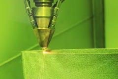 3D打印机打印金属 免版税图库摄影