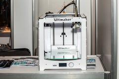 3d打印机打印 免版税库存照片