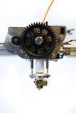 3D打印机挤压机 库存照片