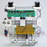 3D打印机汇编 免版税库存照片