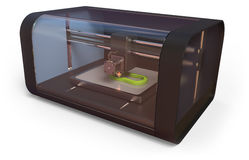 3D打印机 库存图片