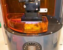 3D打印机& x28; SLA和DLP& x29; 免版税图库摄影
