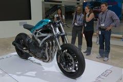 3D打印的超级自行车 免版税库存图片