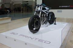 3D打印的超级自行车 库存图片