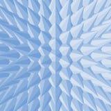 3d抽象例证 边界月桂树离开橡木丝带模板向量 免版税库存照片