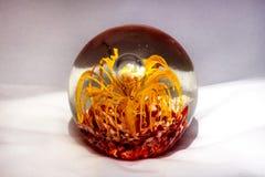 3d抽象背景球玻璃 免版税库存图片