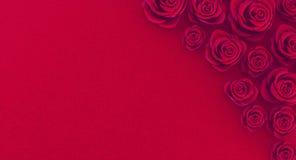 3D摘要浪漫玫瑰色背景翻译  库存照片