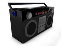 3d收音机 库存例证