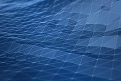 3d数字式几何例证概念 免版税库存照片
