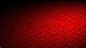 3D最小的红色背景 免版税库存照片