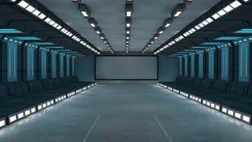 3d未来派建筑学 库存照片