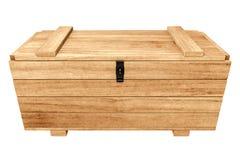 3d板台木胸口翻译在白色背景隔绝的 免版税库存照片