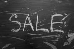 3d查出的例证使销售额文本空白 免版税库存图片