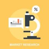 3d查出的市场研究白色 免版税图库摄影