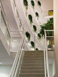 3d概念图象楼梯白色 库存照片