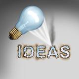 3d概念想法图象回报了 免版税图库摄影