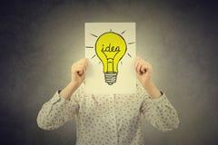 3d概念想法图象回报了 免版税库存照片