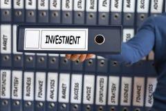 3d概念投资查出的翻译 投资策略 库存图片